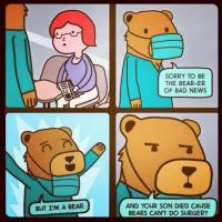 Bearly a doctor